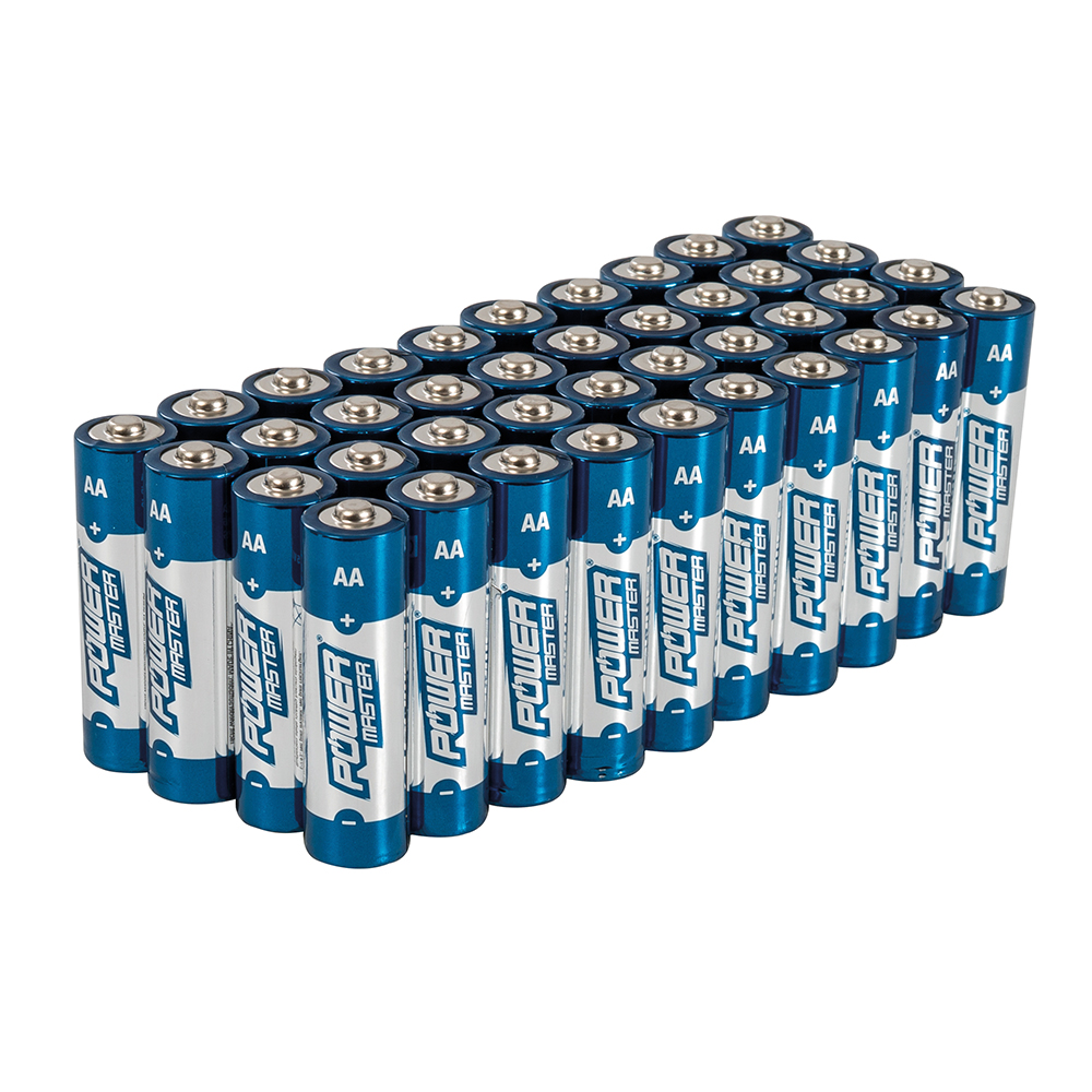 Super-pak (40 stuks) Batterijen Power Master